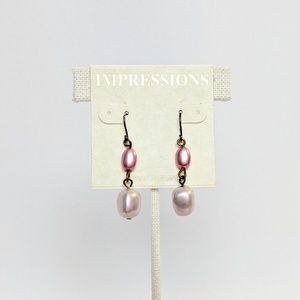 Impressions Jewelry - 💢3 for $25💢Impressions Pink Lustre Earrings